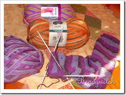 More socks wool